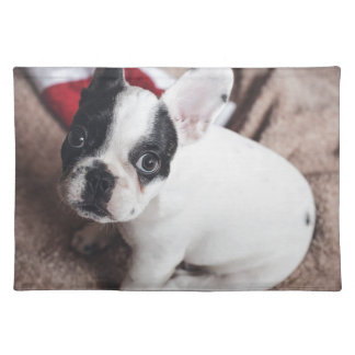 Christmas Frenchie Placemat