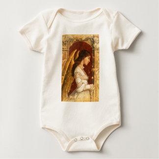 Christmas Fresco Angel Baby Bodysuit
