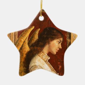 Christmas Fresco Angel Christmas Ornament