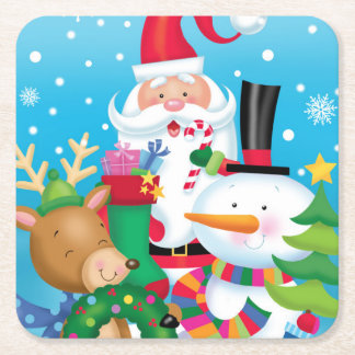 Christmas Friends Coaster