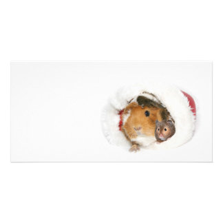 Christmas friends customised photo card