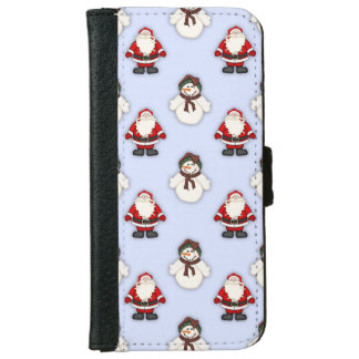 Christmas friends iPhone 6 wallet case