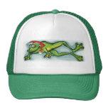 Christmas Frog Hats