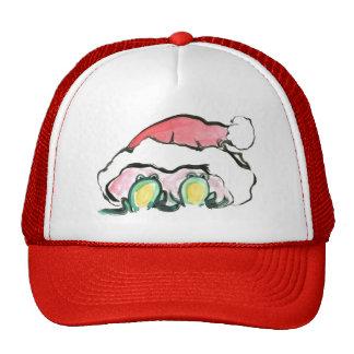 Christmas Frong Dup - Sumi-e Mesh Hat