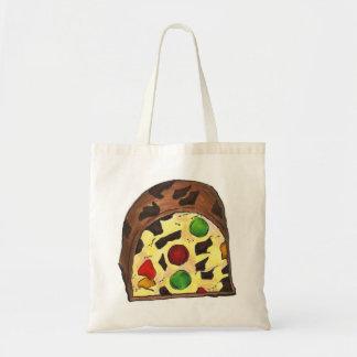 Christmas Fruitcake Fruit Cake Slice Tote Bag