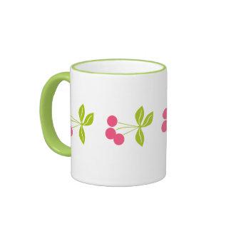 Christmas Fruits Cheerful Ringer Mug