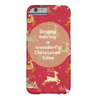 'Christmas Fun' Barely There iPhone 6 Case