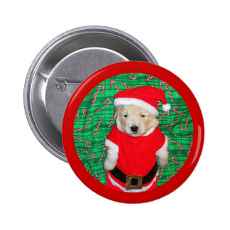 Christmas Funny Santa Puppy Gift Items Pins
