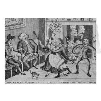 Christmas Gambols, or a Kiss Under the Greeting Card