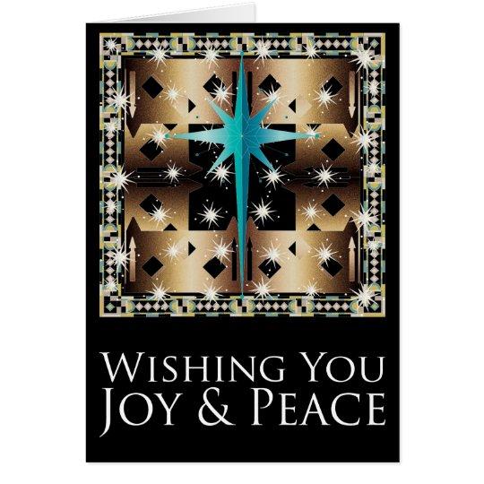 Christmas Garden Wall Card