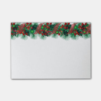 Christmas Garland Post-it-Notes Post-it Notes