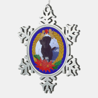 Christmas Garland Snowflake Ornament