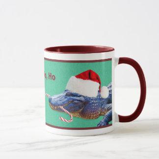Christmas Gator Mug