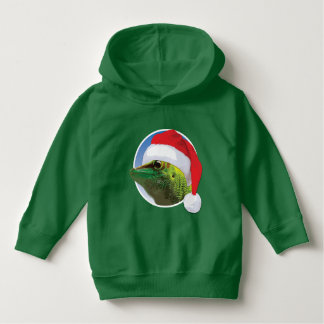 Christmas Gecko - Toddler Pullover Hoodie