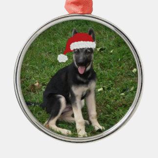 Christmas German Shepherd Ornament
