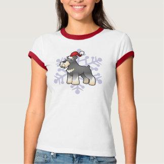 Christmas Giant/Standard/Miniature Schnauzer T-Shirt