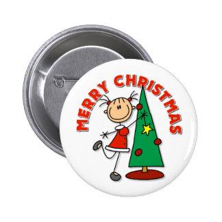 Christmas Gift 6 Cm Round Badge