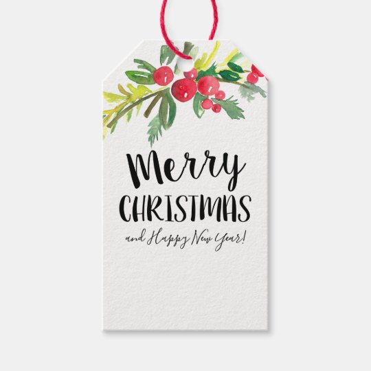 Christmas Gift Card Hang Tag
