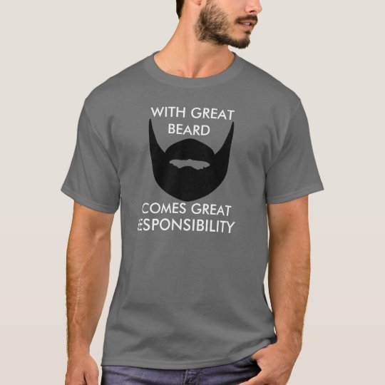 Christmas Gift for Men With Great Beard T-Shirt