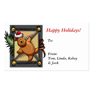 Christmas Gift labels Business Cards