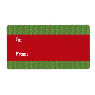 Christmas Gift Labels - Large