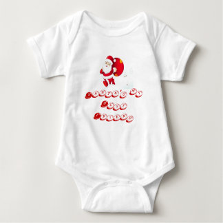 CHRISTMAS GIFT PERSONALIZE IT HOLIDAYS BABY BODYSUIT