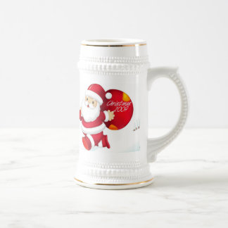 CHRISTMAS GIFT PERSONALIZE IT HOLIDAYS BEER STEINS