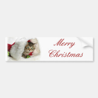 CHRISTMAS GIFT PERSONALIZE IT HOLIDAYS BUMPER STICKER