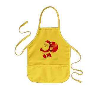 CHRISTMAS GIFT PERSONALIZE IT HOLIDAYS KIDS APRON