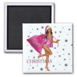 CHRISTMAS GIFT PERSONALIZE IT HOLIDAYS FRIDGE MAGNET