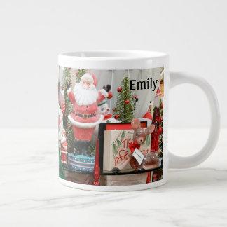 Christmas Gift Personalize With NAME 20 oz Tea Large Coffee Mug