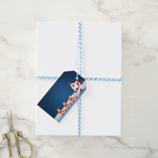 Christmas Gift Tag Santa