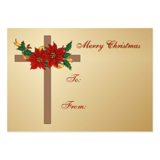 Christmas Gift Tags Business Cards