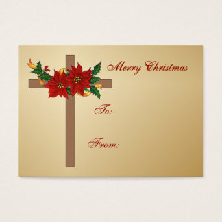 Christmas Gift Tags Business Card