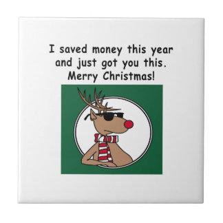 Christmas Gift Ceramic Tiles