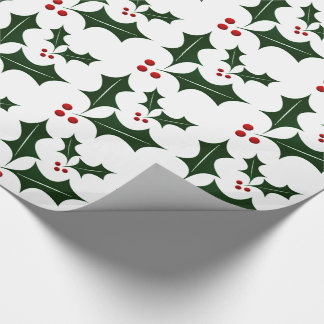 Christmas Gift Wrap/Holly Wrapping Paper