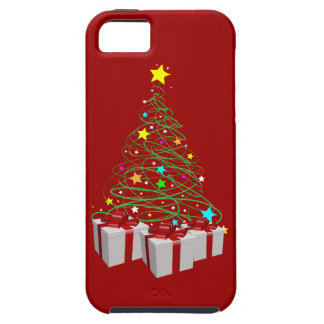 Christmas gifts and tree iPhone 5 covers