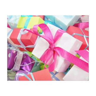 Christmas Gifts Gallery Wrapped Canvas