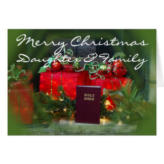 Christmas Gifts card-D- personalize Card