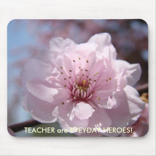 CHRISTMAS GIFTS TEACHERS Blossoms Everyday Heroes Mouse Pads