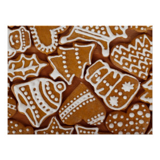Christmas Ginger Cookies Poster
