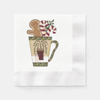 Christmas Gingerbread Disposable Napkin