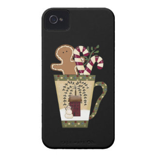 Christmas Gingerbread Holiday Greetings Blackberry Bold Covers