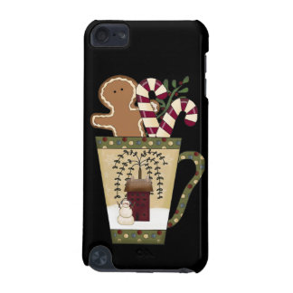 Christmas Gingerbread Holiday Greetings iPod Touch (5th Generation) Case