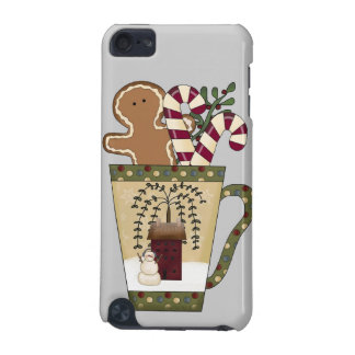 Christmas Gingerbread Holiday Greetings iPod Touch (5th Generation) Covers
