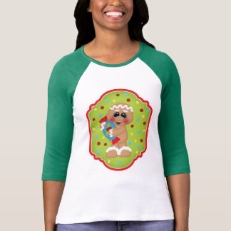 Christmas Gingerbread Holiday long sleeve t-shirt