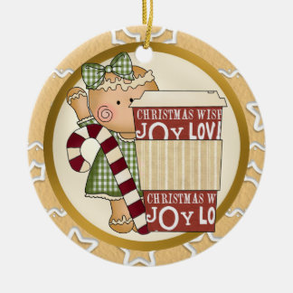 Christmas Gingerbread Holiday Ornament coffee