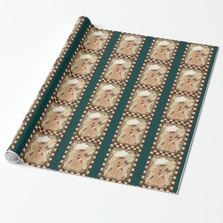 Christmas Gingerbread Holiday wrapping paper