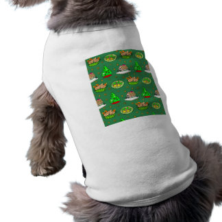 Christmas – Gingerbread Houses Frosted Cookies Pet Clothing