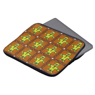 Christmas Gingerbread Laptop Sleeve Bag